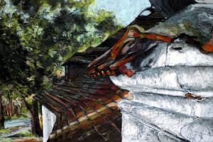 Kazimierz Dolny, pastel, 54×84
