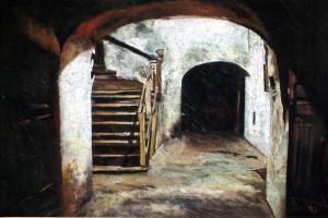 Lubelska starówka I, pastel, 54×84