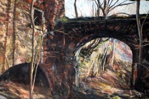 Kotlina Kłodzka, pastel, 54×84