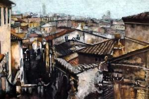 Siena I, pastel, 54×84