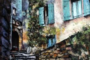 Salerno, pastel, 54×84