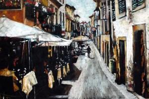 Palermo, pastel, 54×84