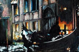 Wenecja II, pastel, 54×84