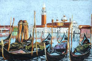 Wenecja I, pastel, 54×84