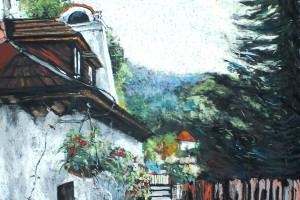 Kazimierz Dolny I, pastel, 54×84