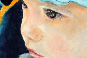 Joachim, pastel, 32×32