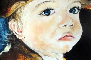 Aron, pastel, 32×32