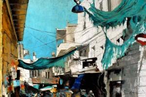 Betlejem, pastel, 54×84