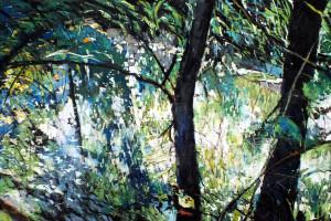 Załęcze Wielkie, pastel, 54×84
