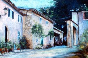 Neapol, pastel, 54×84
