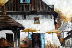 Kazimierz Dolny, pastel, 30×40