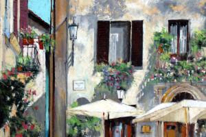 Florencja, pastel, 54×84