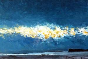 Sky I, akryl, 30x40